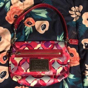 Coach poppy small handbag